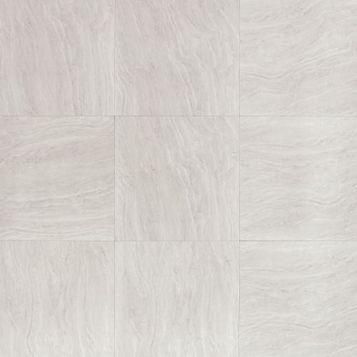"Yosemite 20"" x 20"" Floor & Wall Tile in Silver"