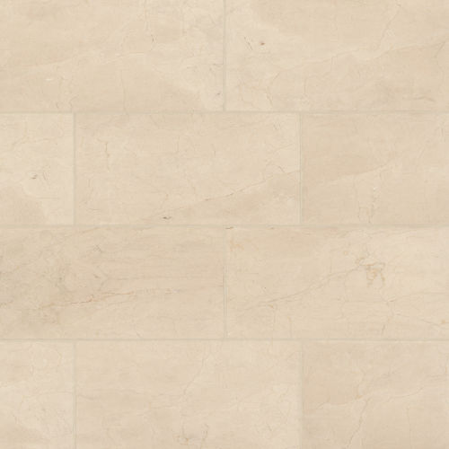 "Aymaran Cream 12"" x 24"" Floor & Wall Tile"