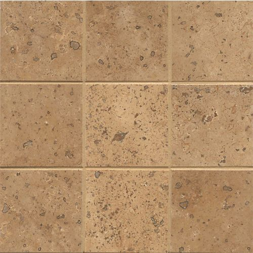 "Chocolate 4"" x 4"" Floor & Wall Tile"