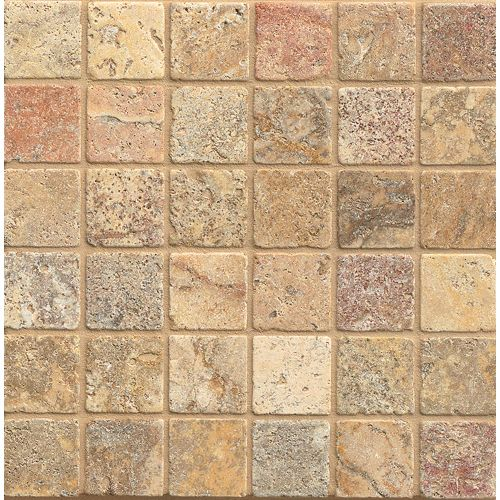 "Scabos 2"" x 2"" Floor & Wall Mosaic"