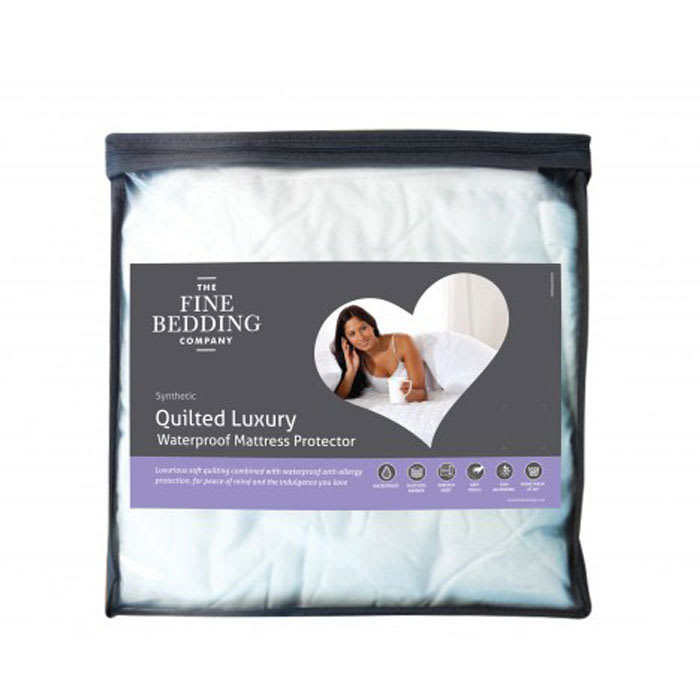 Quilted Luxury Waterproof Mattress Protector Bedtime Product