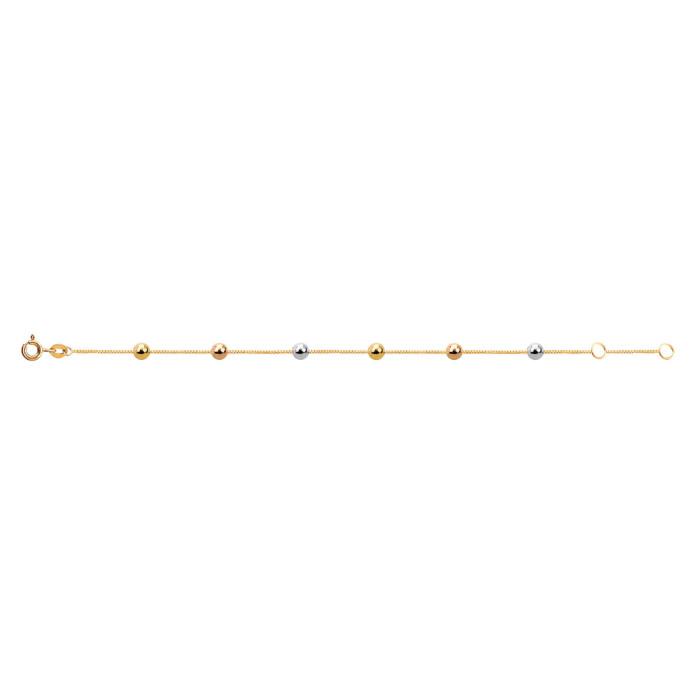 48300e4951629 pulseira-infantil-em-ouro-amarelo-18k-Bela Valentina Joias