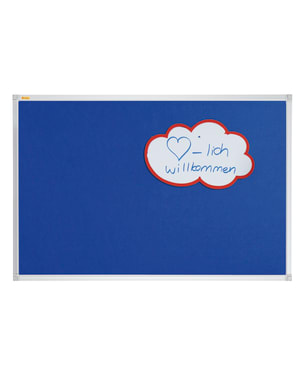 X-Tra!Line Blue Felt Noticeboard 1500 x 1200mm