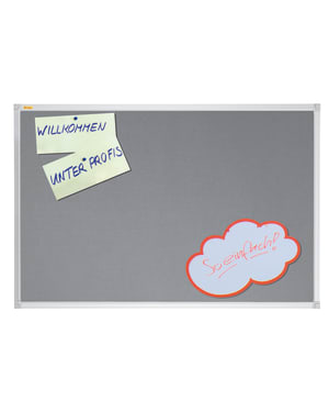 X-Tra!Line Grey Felt Noticeboard 1200 x 900mm