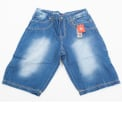 Baggy Denim Shorts Jeans1