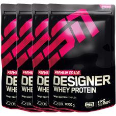 Designer Whey Protein 4er Pack