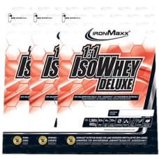 1:1 Iso Whey Deluxe 3er Pack