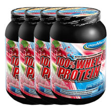 100% Whey Protein 4er Pack