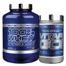 100% Whey Protein + Vitargo
