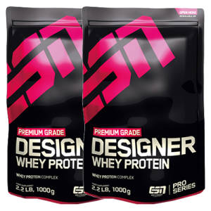Designer Whey Protein 2er Pack