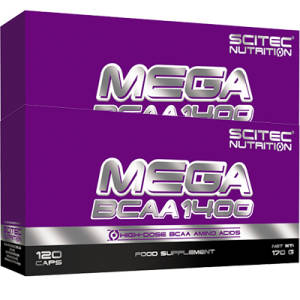 Mega BCAA 1400 Blister BOX 2er Pack