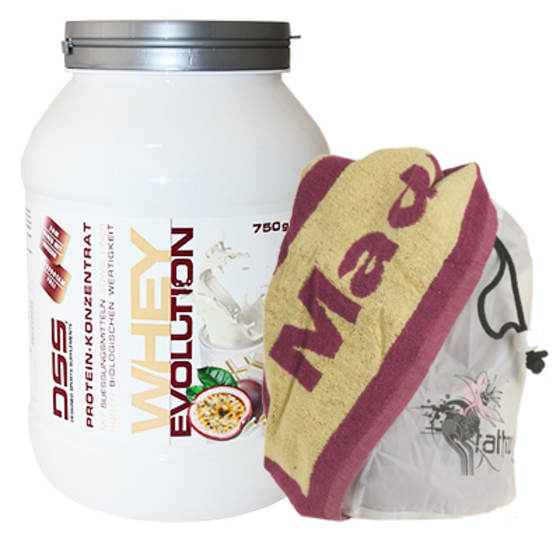 DSS Whey Evolution + MM Sports Towel