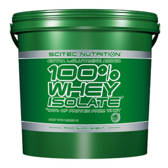 100% Whey Isolate*