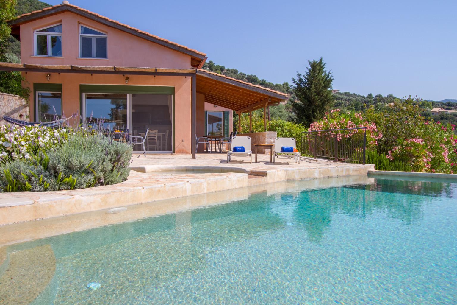 villa anatoli luxury seafront villa with private infinity pool