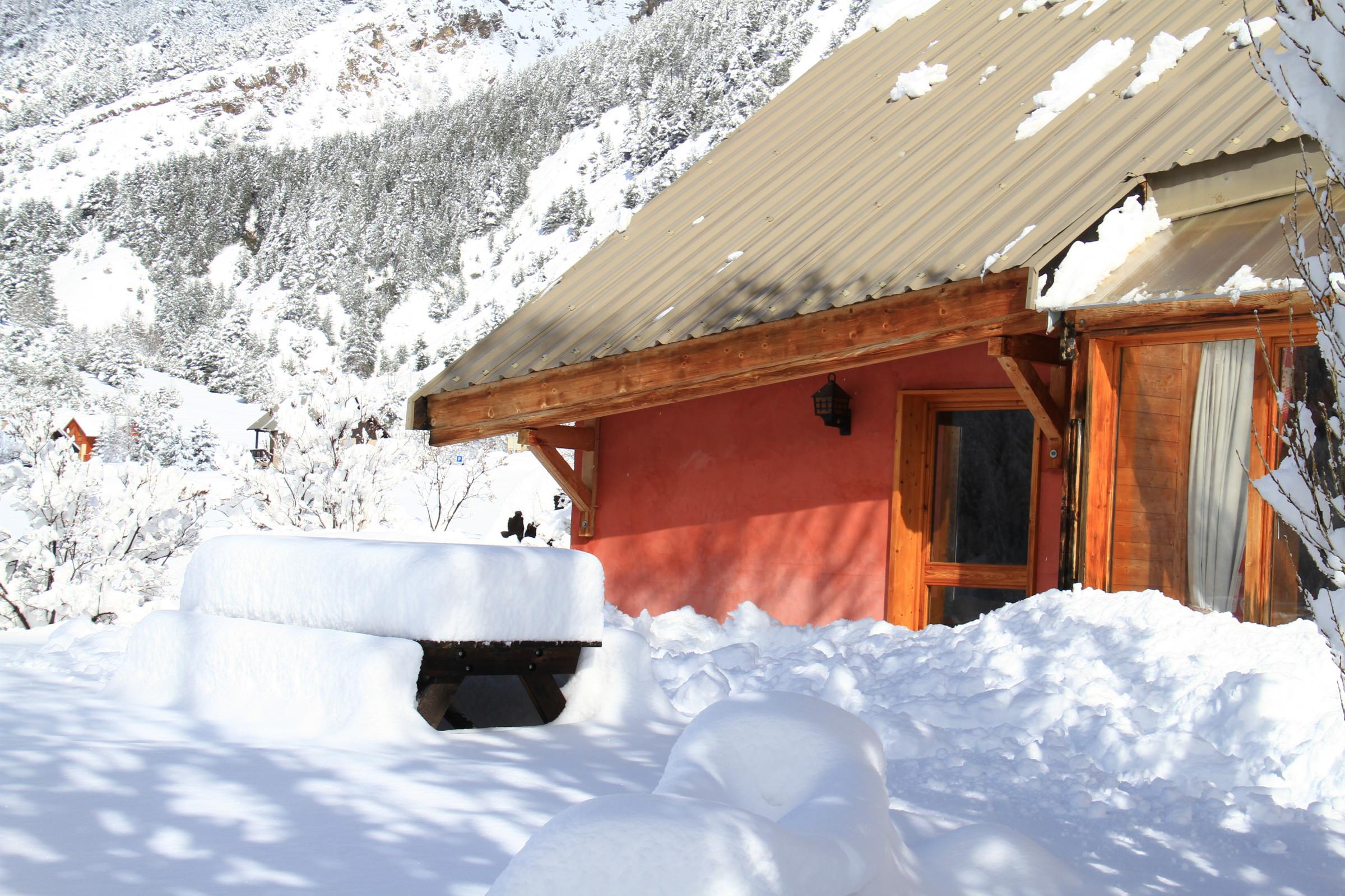 Chalet Le Troll Hameau des Chazals Nevache Hautes Alpes  Chazals