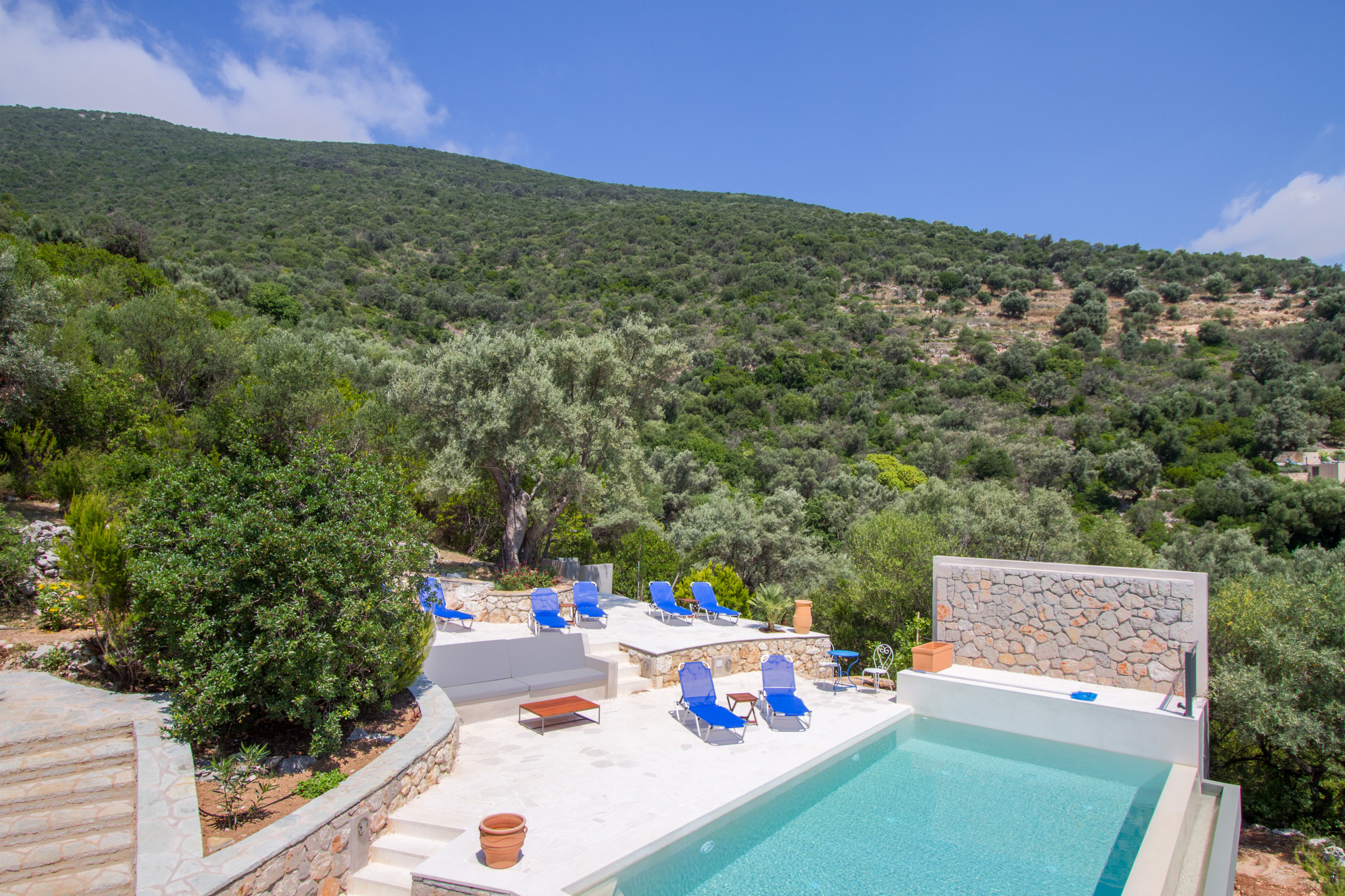 vacances au montenegro pool terrace with beautiful sea view