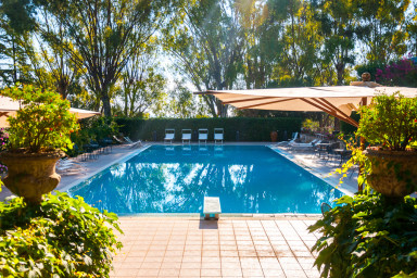 Veranda in Villa Carenza: holiday accomodation in Puglia