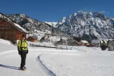 Névache - pistes de ski de fond