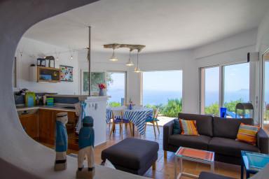 Villa Coquili:  la vue unique et inoubliable