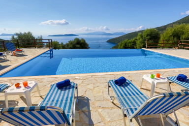 Villa Andromeda - Stunning view of Ionian Sea