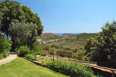 Härlig semester villa med havsutsikt i Toscana