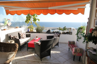 holiday apartment in the old town of Puerto del Carmen with shared pool