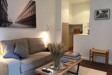 Designer 1-bedroom in Rue St Honoré