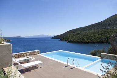 Villa Kalamos -Luxury villa Sivota Bay with direct sea access