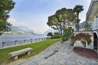 Stor vacker villa med oslagbar utsikt över Comosjön