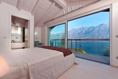 Vacker villa med pittoreskt läge på Comosjön