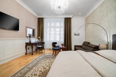 Apartmán Bishop Queen v centru Brna