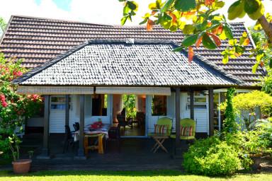 Maison Te Vini - Tahiti - bord de plage de sable blanc - 3 ch - 6 pers