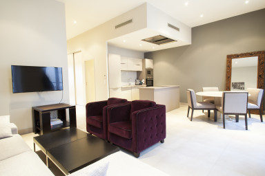 This beautiful, luxury apartment has been recently renovated with taste....