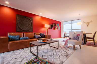 Gorgeous Colombian Style Three Bedroom Apartment