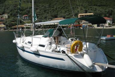 furling main sail, furling Jenoa, bimini