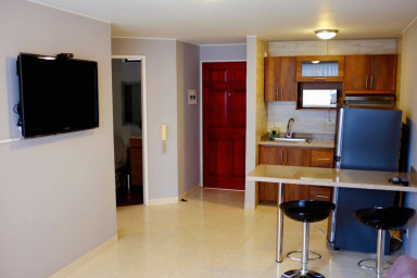 Cute 1-bed in Peñon with A/C, WIFI and hot water.