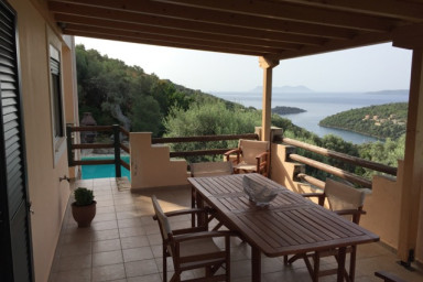 Charming villa with an amazing and peaceful view on Sivota Bay