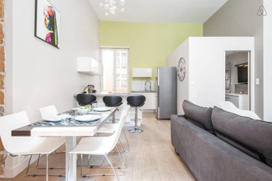 Modern and peaceful Flat in the heart of Lyon