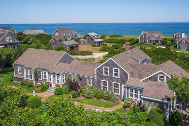 The Beachmont: Historic, Ocean-View Retreat in Quidnet w/ Beach Access