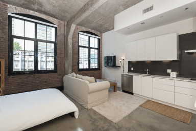 Loft studio for rent at Southam Lofts