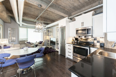 1-Bedroom condo for rent Place des Arts