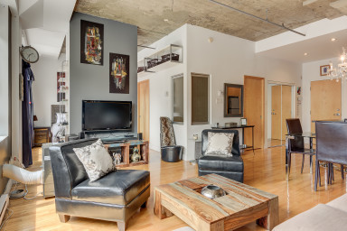 1 Bedroom unit for rent at the Usine Mont-Royal