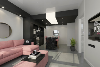 1 bedroom VIP apartment for rent Bell Center