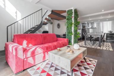 Superb Townhouse Duplex - Croix Rousse