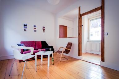 3/4 rooms, quiet district of Neudorf