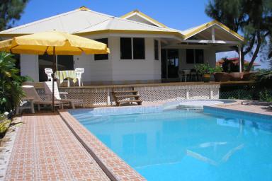 Villa Maitai Temae - Moorea - piscine & jardin - jusqu'à 12 pers