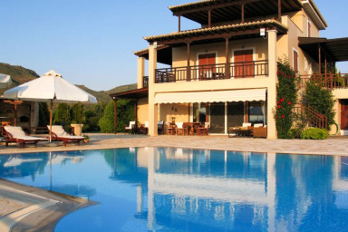 Villa Phaedra with pool and view by JJ Hospitality