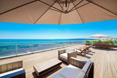 Luxueux appartement avec 200 m2 de terrasse