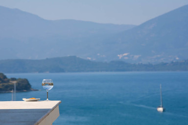 Villa Clio-Magnificent view of Vathy Bay Meganisi