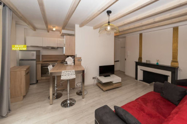 Morens apartment T2 mezza Vieille ville